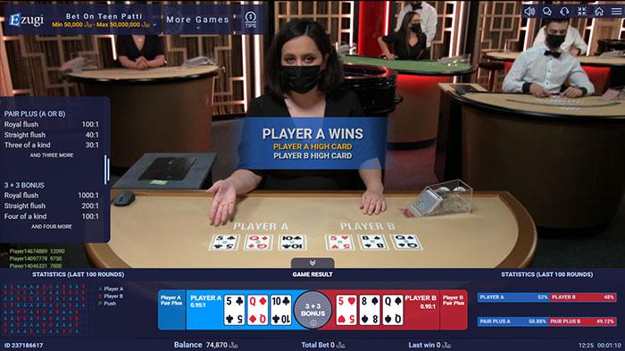 دیلر خارجی بازی پوکر در کازینو زنده ایزوگی سایت BTL90